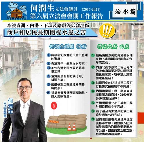 第六屆立法會會期工作報告治水篇